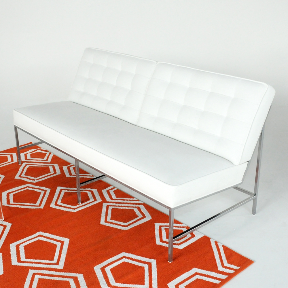 aston sofa white