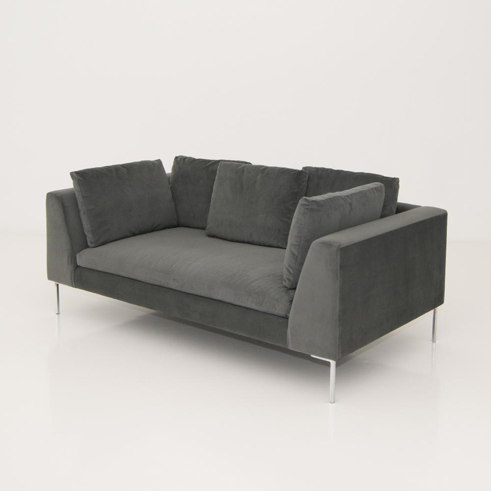 hudson sofa gray