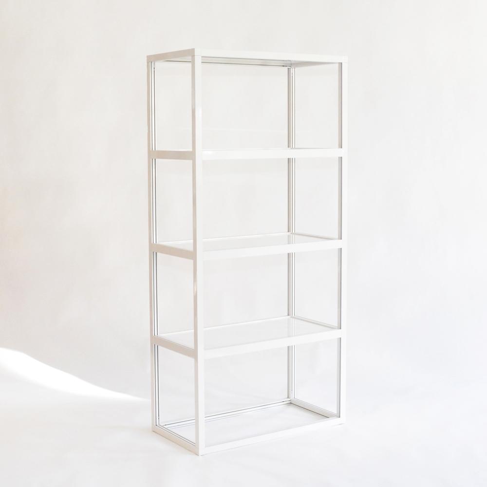 pure display shelves