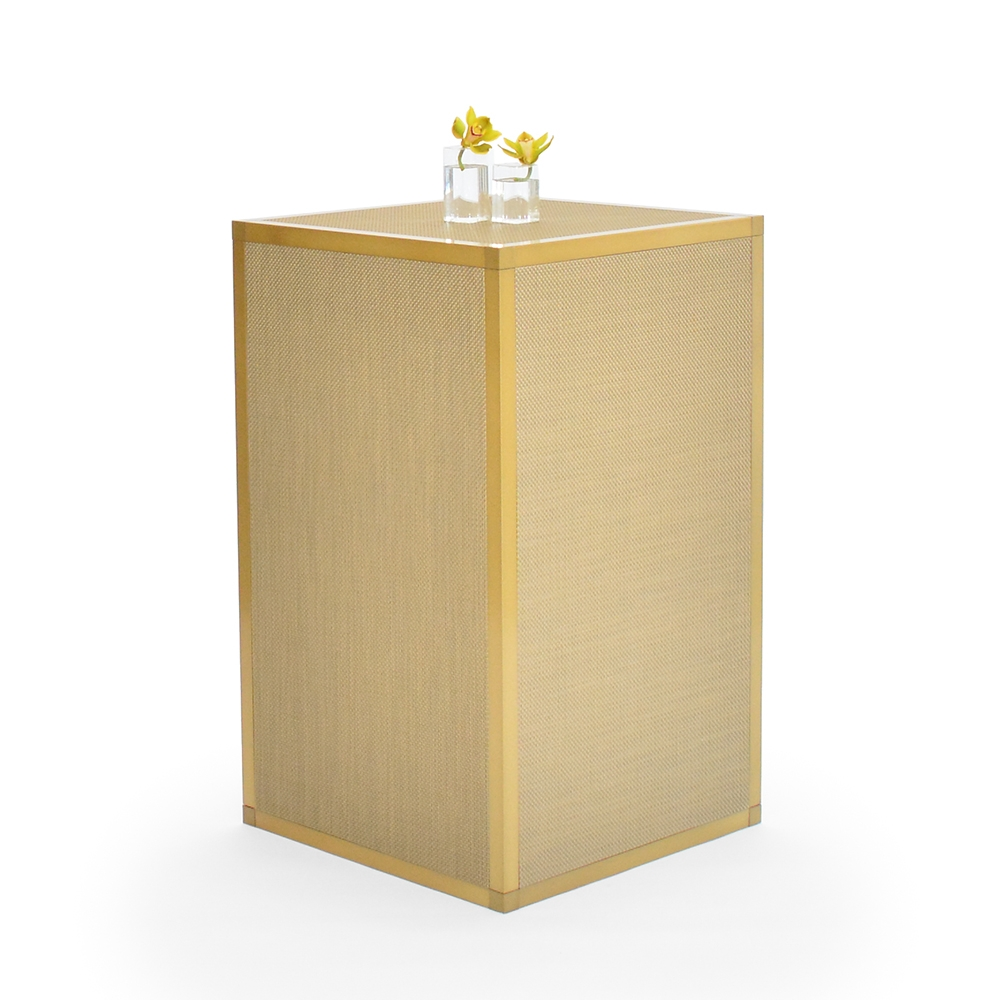 chilewich highboy - new gold