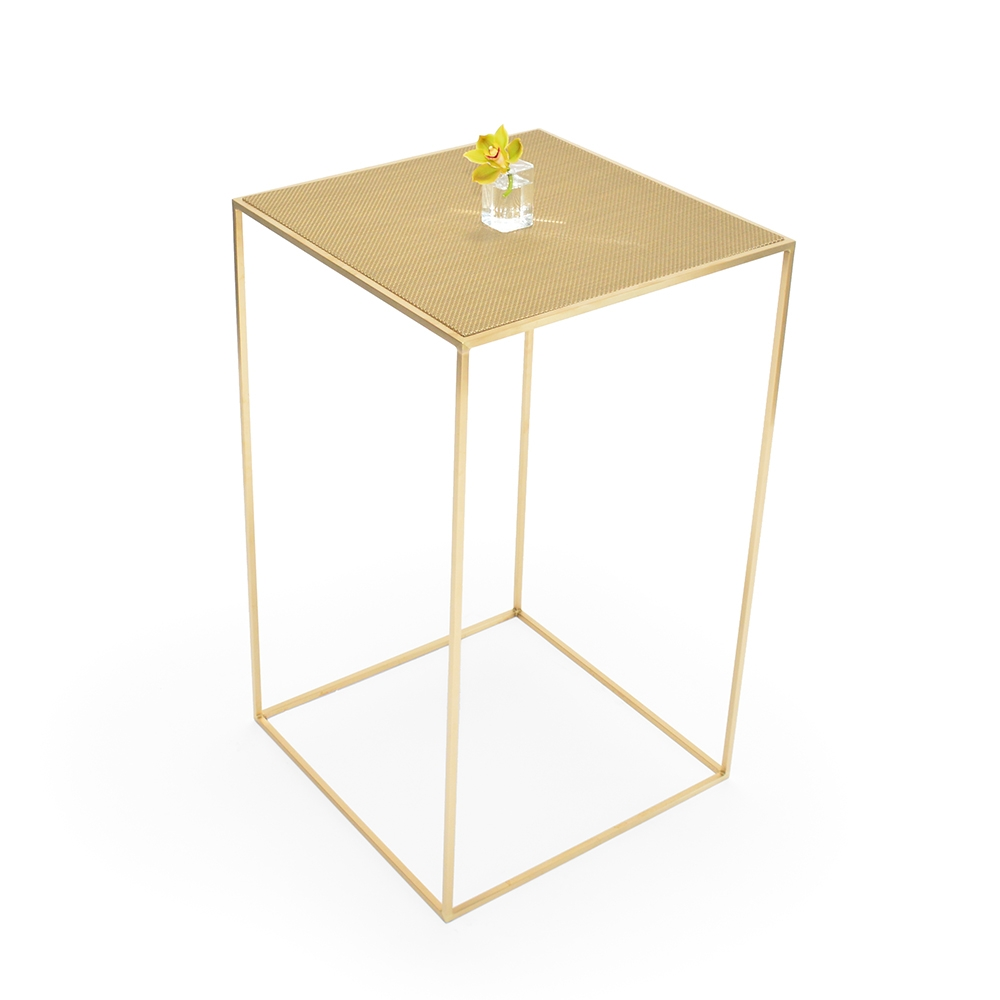maxwell highboy - chilewich new gold