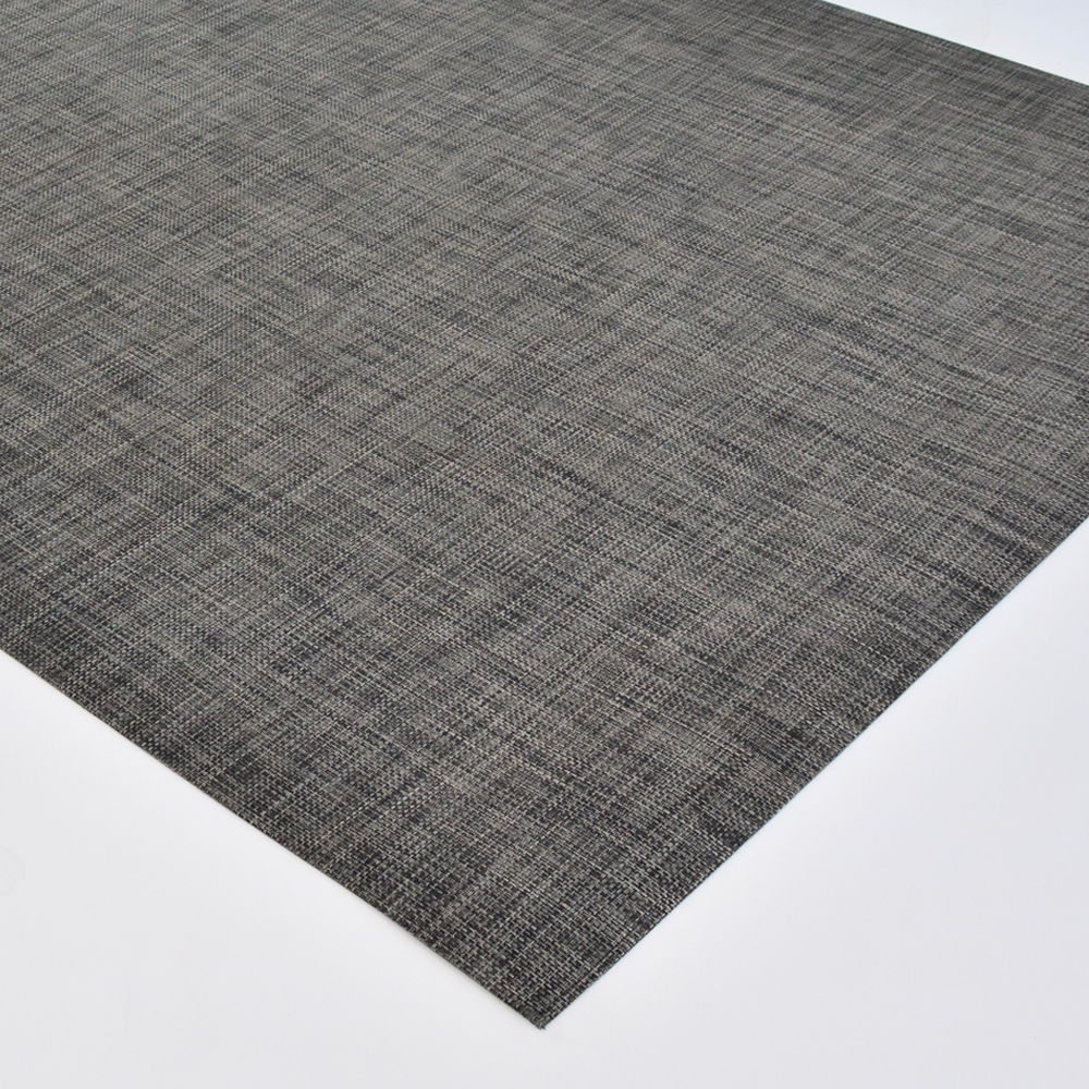 chilewich floor mat carbon