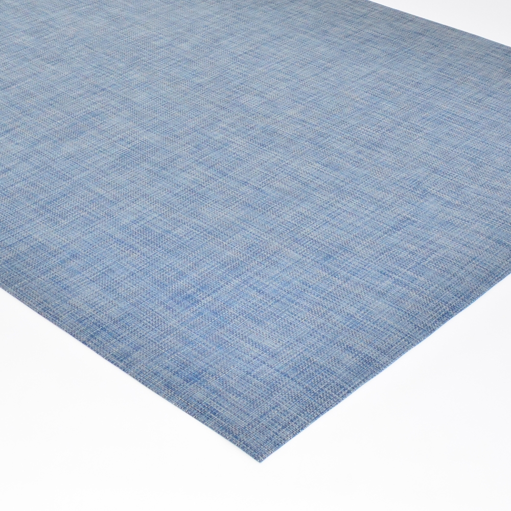 chilewich floor mat denim